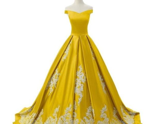 Yellow-Gown-Modern
